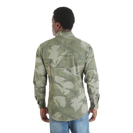 Chemise à boutons-pression à manches longues de première qualité Wrangler pour homme - image 2 de 4