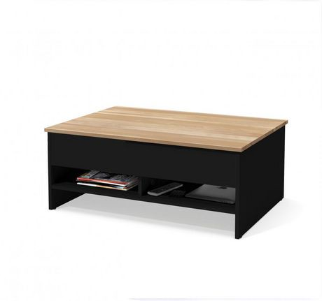 Bestar Small Space 37 Lift Top Storage Coffee Table Walmart Canada