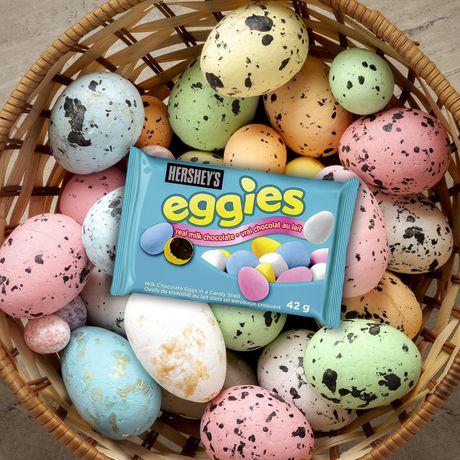 HERSHEY'S EGGIES Milk Chocolate Candy Coated Easter Eggs - image 3 of 3