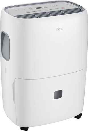 TCL 30 Pint Dehumidifier; White - image 1 of 4
