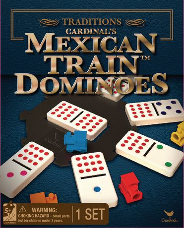 Traditions Mexican Train Dominoes Game Walmart Canada
