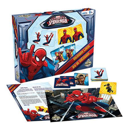 Jeu de mémoire édition ultime Spider-Man de Marvel - Bilingue - image 3 de 3