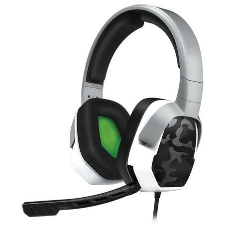 Casque stéréo LVL 3 PDP pour Xbox One - Camouflage Blanc - image 1 de 5