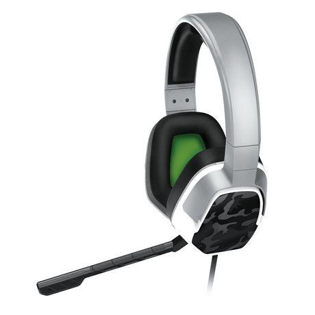 Casque stéréo LVL 3 PDP pour Xbox One - Camouflage Blanc - image 2 de 5