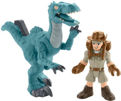 Imaginext Jurassic World Muldoon & Raptor - image 4 of 7