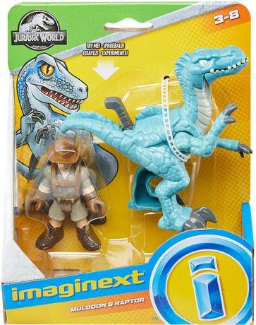 Imaginext Jurassic World Muldoon & Raptor - image 7 of 7