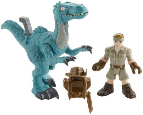 Imaginext Jurassic World Muldoon & Raptor - image 1 of 7