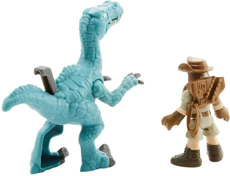 Imaginext Jurassic World Muldoon & Raptor - image 5 of 7