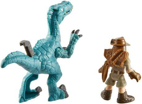 Imaginext Jurassic World Muldoon & Raptor - image 6 of 7