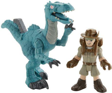Imaginext Jurassic World Muldoon & Raptor - image 2 of 7
