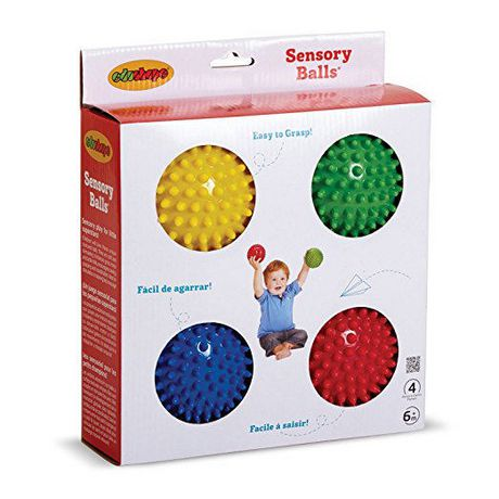 "Edushape - 4"" Sensory Ball - Opaque - 4 Pack - image 1 of 3"