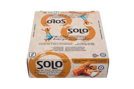 SoLo Peanut Caramel Sea Salt Energy Bars - image 2 of 5