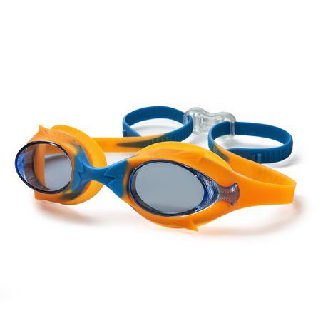 Lunette de natation enfant cadet - Bleu / Orange - image 1 de 6