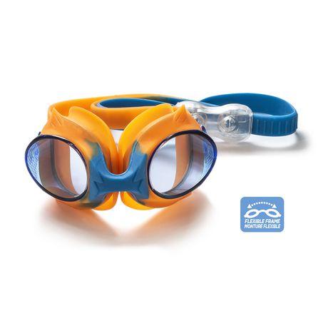 Lunette de natation enfant cadet - Bleu / Orange - image 3 de 6