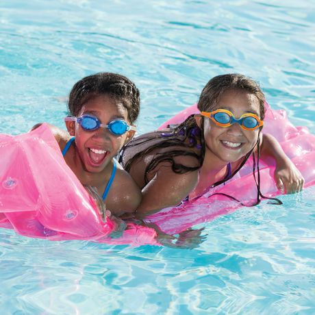 Lunette de natation enfant cadet - Bleu / Orange - image 5 de 6