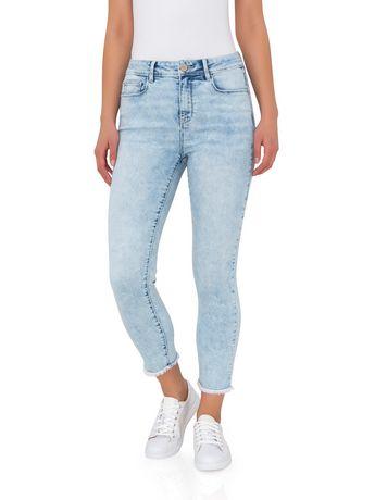 63df276e02bfe Jordache Women's High Rise Cropped Skinny   Walmart Canada