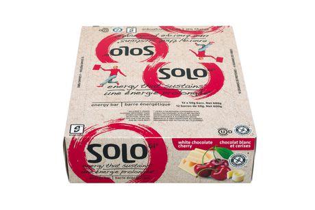 SoLo White Chocolate Cherry Energy Bars - image 2 of 5
