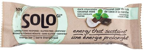 SoLo barre energetique chocolat noir et noix de coco á la menthe - image 1 de 5