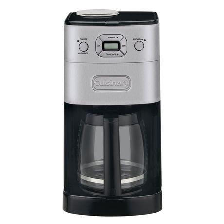 cafeti re enti rement automatique de 12 tasses avec moulin int gr grind brew de cuisinart. Black Bedroom Furniture Sets. Home Design Ideas