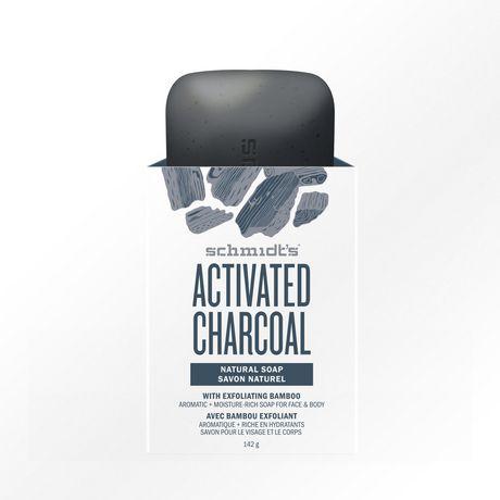 Schmidt's Charcoal Natural Bar Soap 142 GR - image 1 of 3