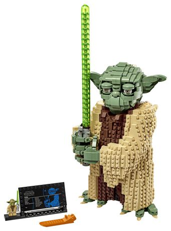 LEGO Star Wars: Attack of the Clones Yoda 75255 Building Kit (1771 Pieces) - image 3 of 6