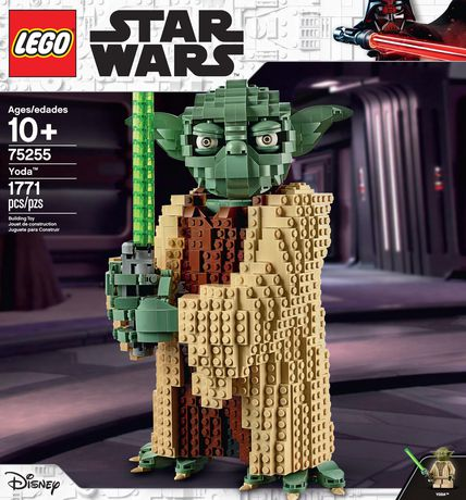 LEGO Star Wars: Attack of the Clones Yoda 75255 Building Kit (1771 Pieces) - image 5 of 6