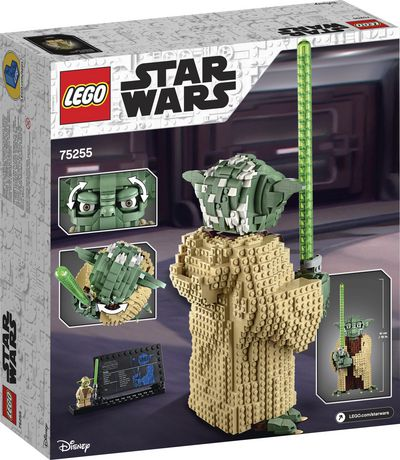 LEGO Star Wars: Attack of the Clones Yoda 75255 Building Kit (1771 Pieces) - image 6 of 6