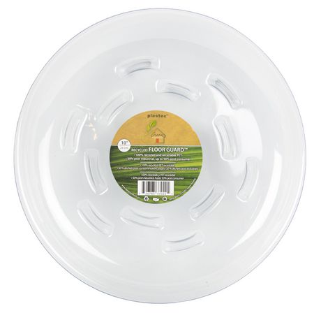 """Plastec 10"""" Recycled Floor Guard Saucer - image 1 of 1"""