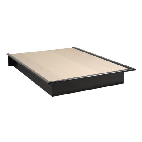 Prepac base de lit plateforme double walmart canada for Base de lit double kijiji