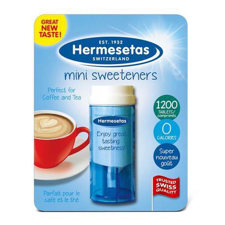 hermesetas  Hermesetas Calorie Free Sweeteners   nada