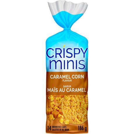 Quaker Crispy Minis Rice Cakes Caramel Corn Walmart Canada