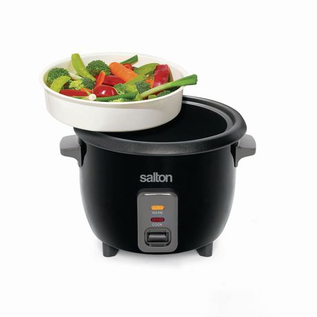 Salton Automatic Rice Cooker & Steamer 6 Cup RC1653 - image 4 of 9