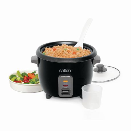 Salton Automatic Rice Cooker & Steamer 6 Cup RC1653 - image 5 of 9