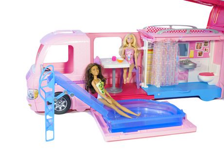 Barbie Camper Barbie Nikki Beach Doll Playset Walmart Canada