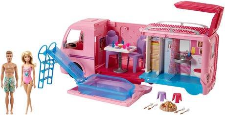Barbie Camper Barbie Ken Beach Doll Playset Walmart Canada