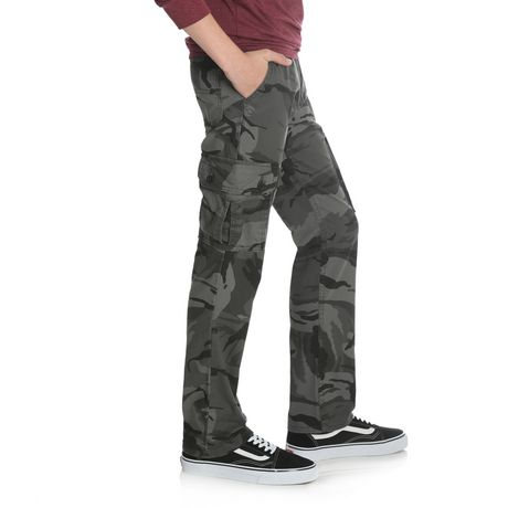 Wrangler Boys' Slim Straight Stretch Cargo Pant - image 2 of 6
