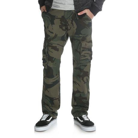 Wrangler Boys' Slim Straight Stretch Cargo Pant - image 1 of 6