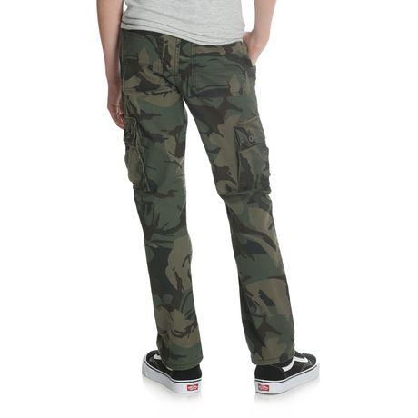 Wrangler Boys' Slim Straight Stretch Cargo Pant - image 3 of 6