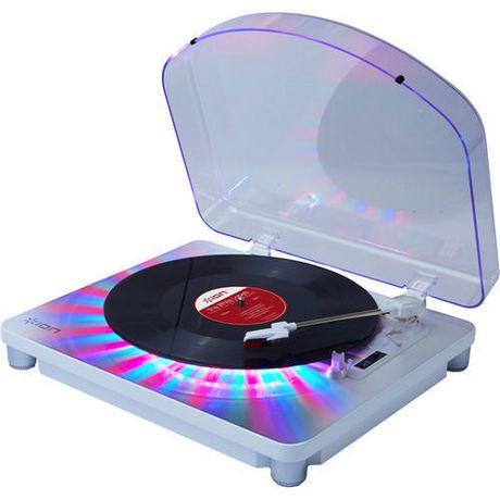 ION Audio Photon LP Platine à 3 vitesses avec éclairage multicolore intégré - image 1 de 5