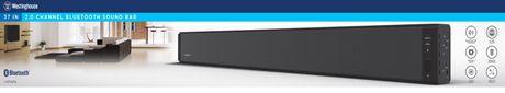 "Westinghouse 37"" Bluetooth Home Theater TV Soundbar - image 5 of 5"
