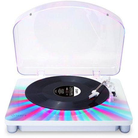 ION Audio Photon LP Platine à 3 vitesses avec éclairage multicolore intégré - image 2 de 5
