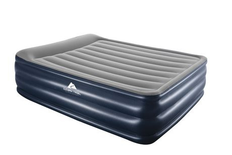 Ozark Trail Flocked Airbed With Built In Pump Walmart Canada