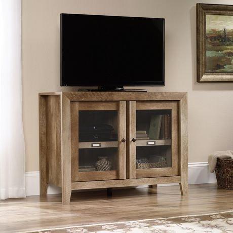 Sauder Craftsman Oak Finish Tv Stand Walmart Canada