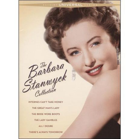 Barbara Stanwyck the collection universal backlot series