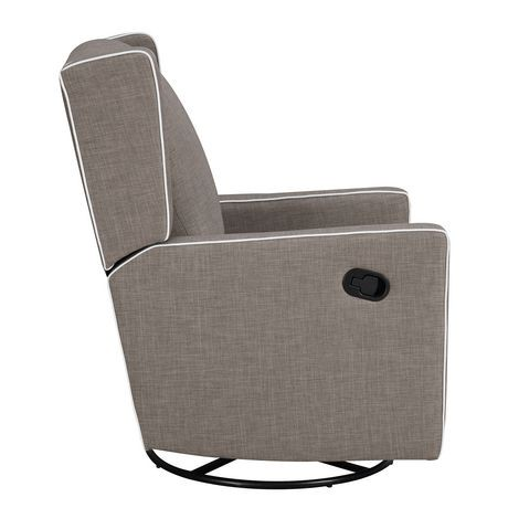 Fauteuil inclinable pivotant baby knightly gris walmart canada - Fauteuil pivotant gris ...