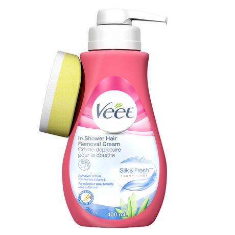 Cr me d pilatoiresous la douche veet md pour peau - Veet creme depilatoire sous la douche ...