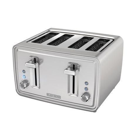 Black + Decker 4-Slice Extra Wide Toaster - Best 4 Slice Toaster
