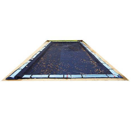85cd1e2a1a8db Blue Wave Rectangular Leaf Net In-Ground Pool Cover - image 1 of 4 ...