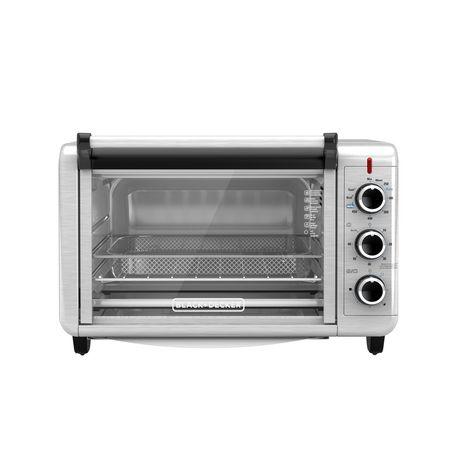 Black + Decker Crisp 'N Bake Air Fry Toaster Oven in Stainless Steel - image 2 of 6