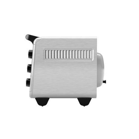 Black + Decker Crisp 'N Bake Air Fry Toaster Oven in Stainless Steel - image 4 of 6